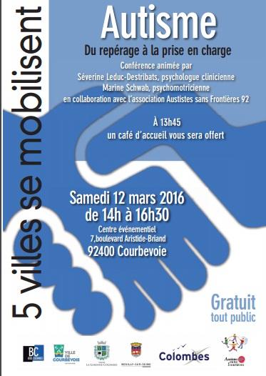Conférence du 12 mars 2016: du repérage à la prise en charge